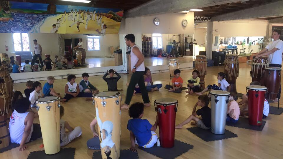 Summer camp 2016: Drum Class